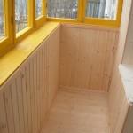 Вагонка колхозница для обшивки балконов